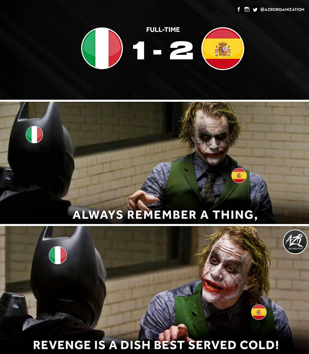 Italy by Machester United
